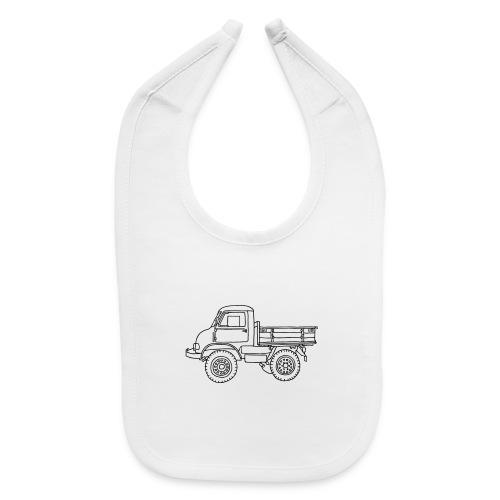 Off-road truck, transporter - Baby Bib