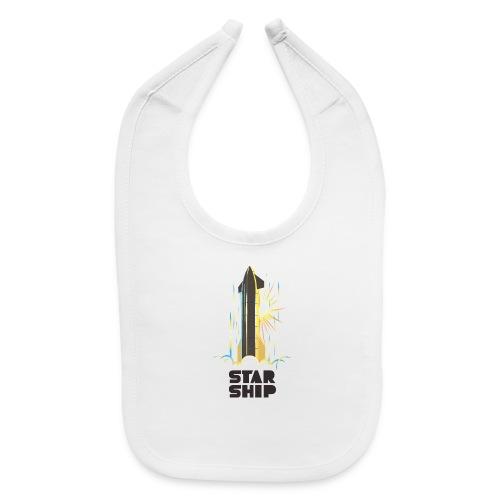 Star Ship Earth - Light - Baby Bib