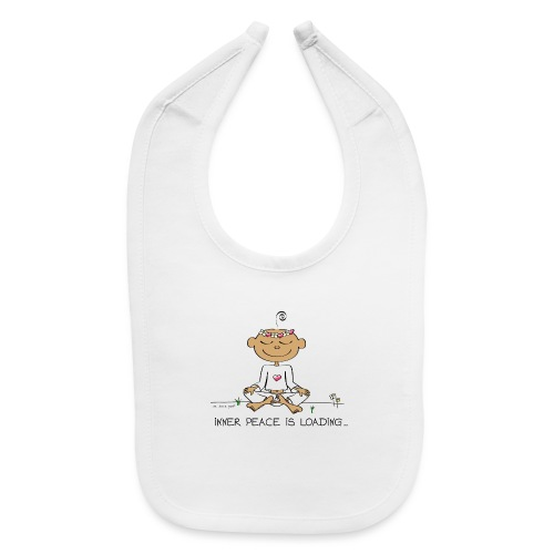 Inner Peace is Loading - Baby Bib
