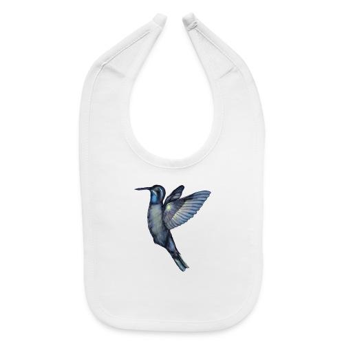 Hummingbird in flight - Baby Bib