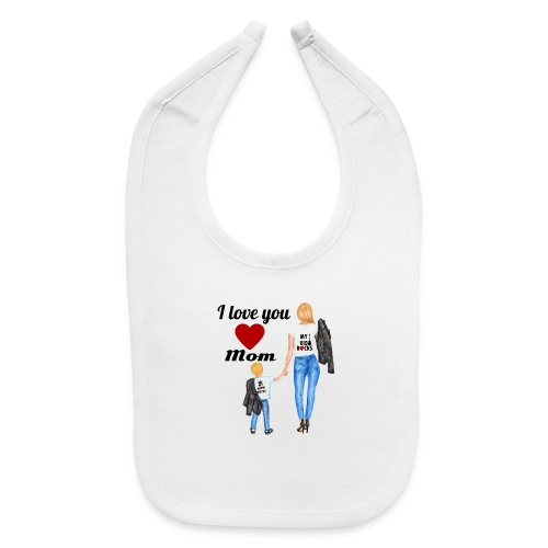 Mother's day gift from daughter, Mother's Day Gift - Baby Bib