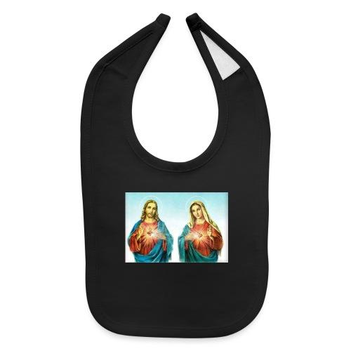 Jesus and Mary - Baby Bib