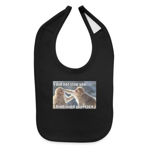 funny animal memes shirt - Baby Bib