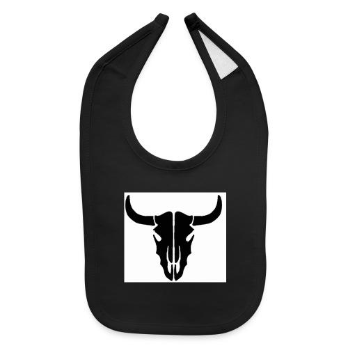 Longhorn skull - Baby Bib