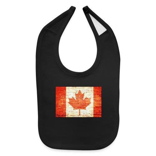 Canada flag - Baby Bib