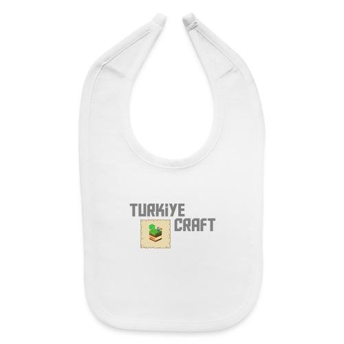 TurkiyeCraft Logo - Baby Bib