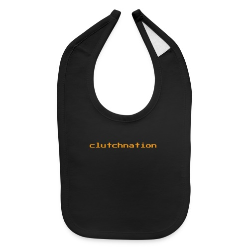 clutchnation LIMTED TIME GOLD VG MERCH!!!! - Baby Bib