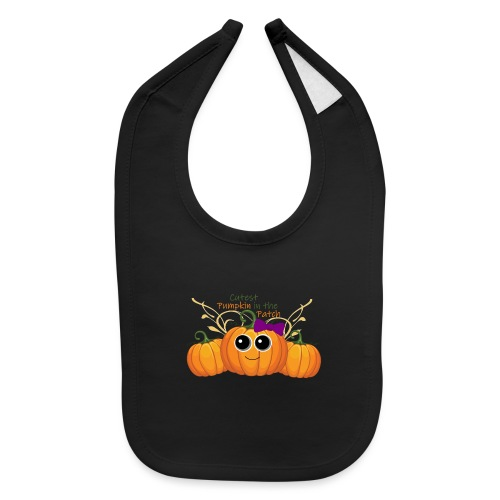 cutest pumpkin - Baby Bib