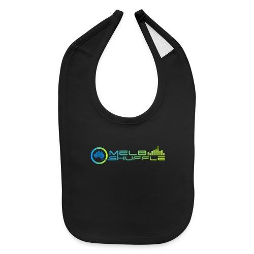 Melbshuffle Gradient Logo - Baby Bib