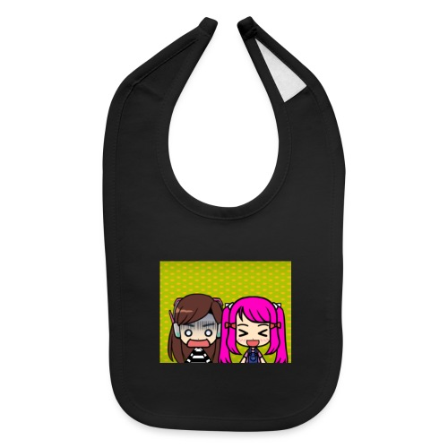 Phone case merch of jazzy and raven - Baby Bib