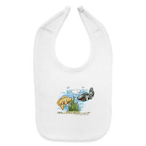 when clownfishes meet - Baby Bib