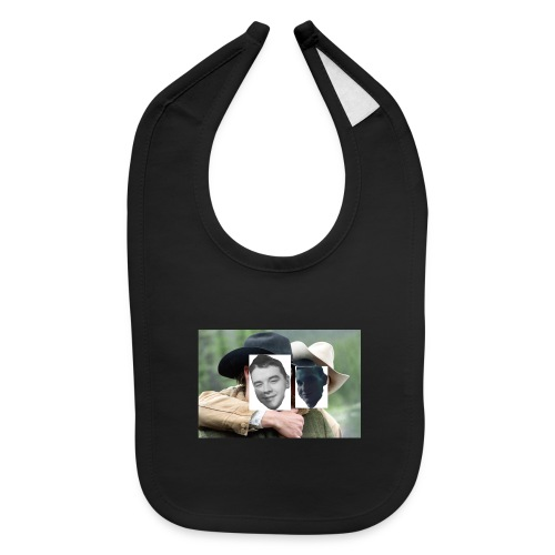 Darien and Curtis Camping Buddies - Baby Bib