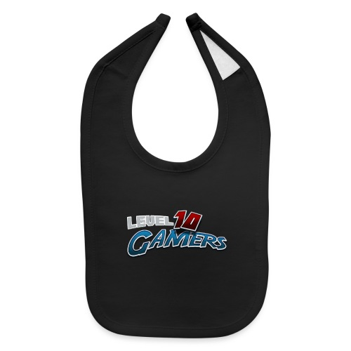 Level10Gamers Logo - Baby Bib