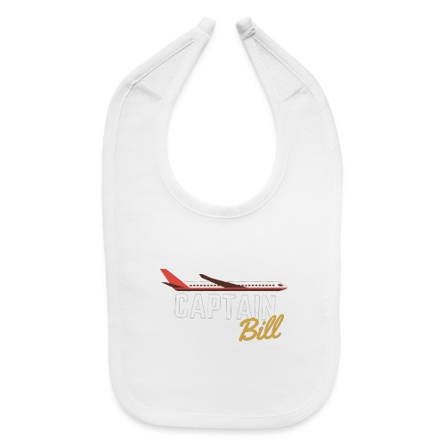 Captain Bill Avaition products - Baby Bib