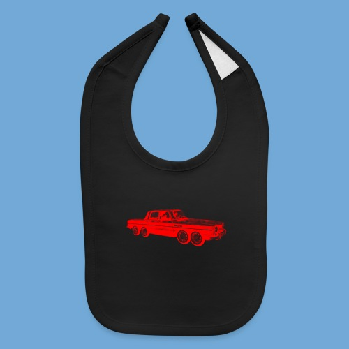 Eight-Wheeled Car - Baby Bib