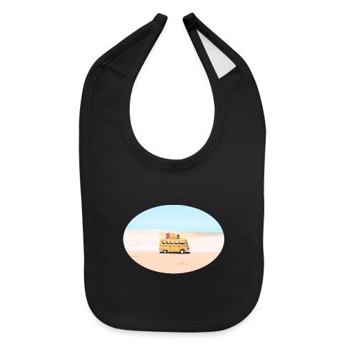 Noosa Car Beach - Baby Bib