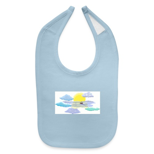 Sea of Clouds - Baby Bib
