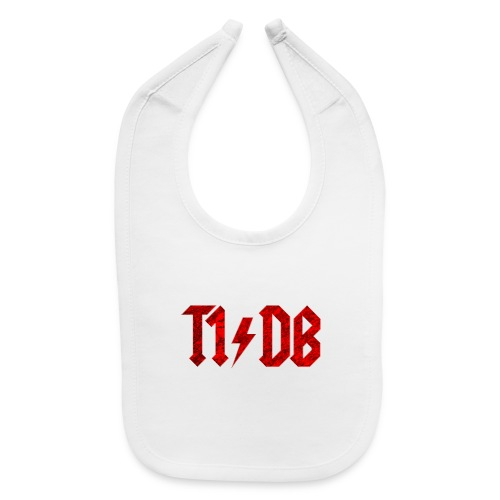 T1/DB AC/DC Style - Baby Bib