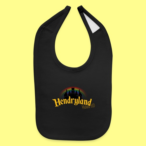 HENDRYLAND logo Merch - Baby Bib