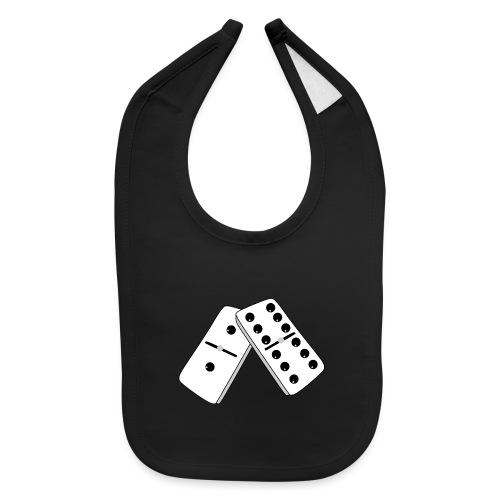 Domino Game shirts creative card Playing Cards - Baby Bib