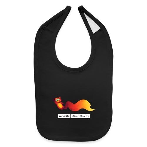 Foxr Flying (white MR logo) - Baby Bib