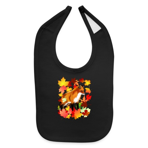 A FOX in FALL - Baby Bib