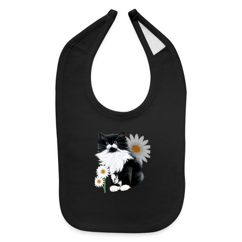Little Tux Kitten-Daisy - Baby Bib