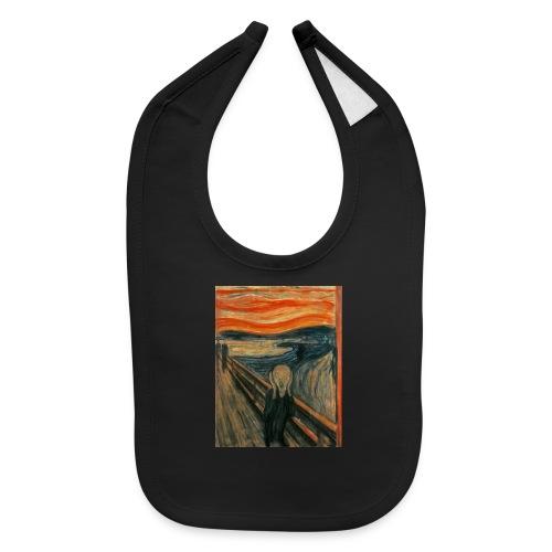 The Scream (Edvard Munch) - Baby Bib