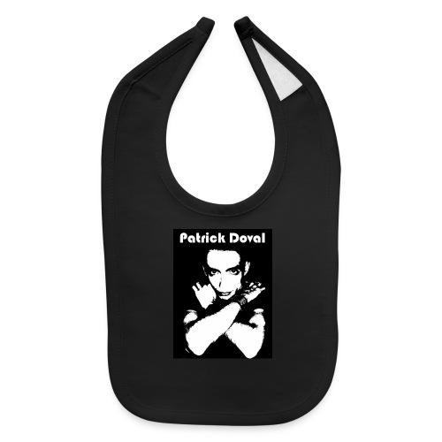 Patrick Doval Logo - Baby Bib