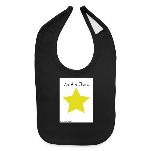 Hi I'm Ronald Seegers Collection-We Are Stars - Baby Bib