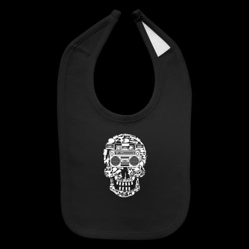 Audio Skull - Baby Bib