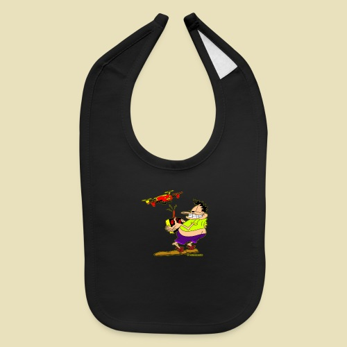 GrisDismation Ongher Droning Out Tshirt - Baby Bib