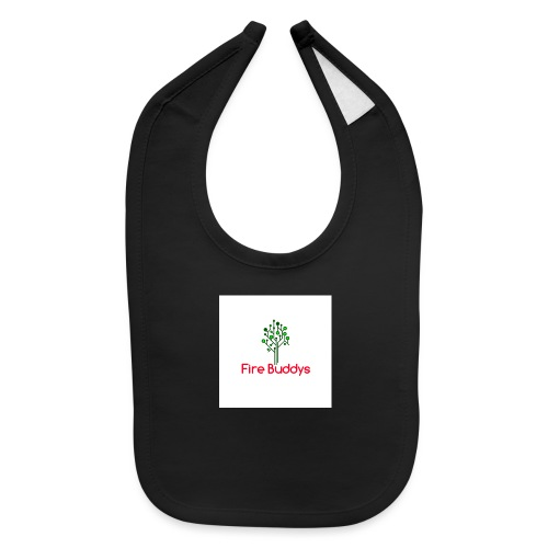 Fire Buddys Website Logo White Tee-shirt eco - Baby Bib