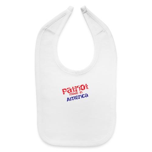 Patriot mug - Baby Bib