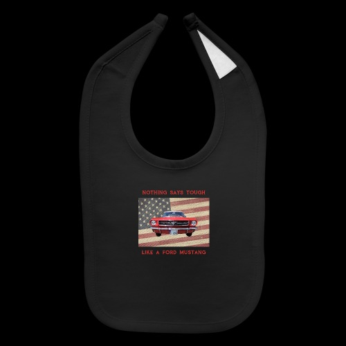 Mustang Tough - Baby Bib