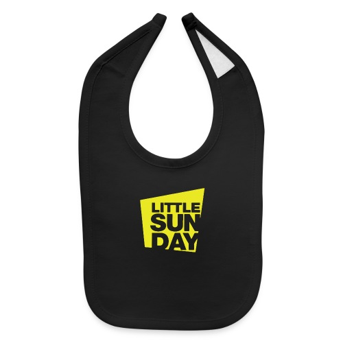 littleSUNDAY Official Logo - Baby Bib