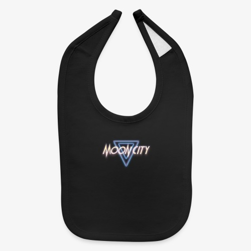 Moon City Logo - Baby Bib
