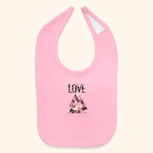 LOVE PRINT - Baby Bib