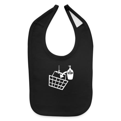 It puts the Lotion in the Basket - Buffalo Bill - Baby Bib
