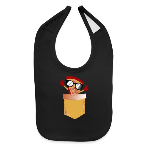 Pizza Lover pocket - Baby Bib