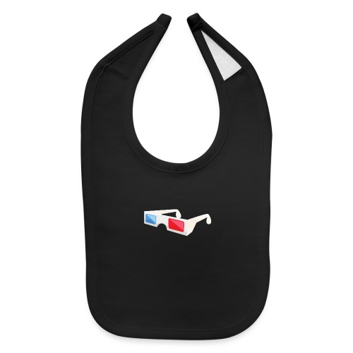 3D glasses - Baby Bib