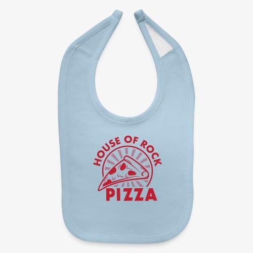HOR Pizza Red - Baby Bib