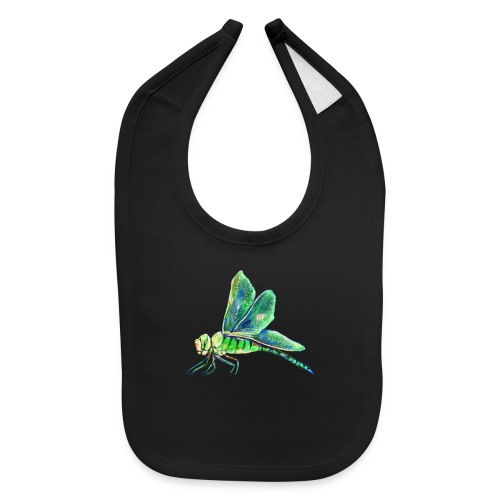 green dragonfly - Baby Bib