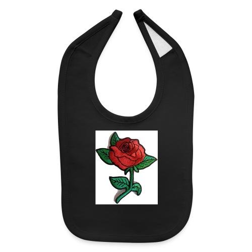 t-shirt roses clothing🌷 - Baby Bib