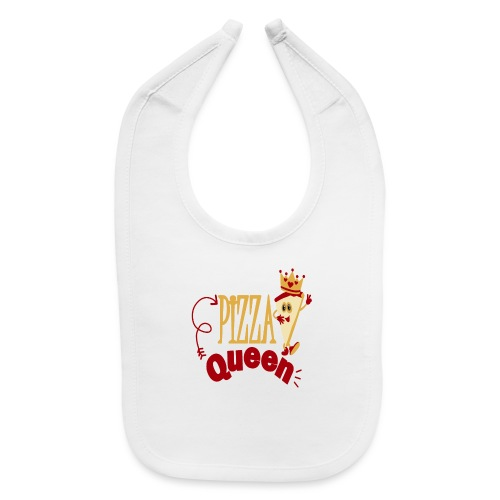 Pizza Queen - Baby Bib