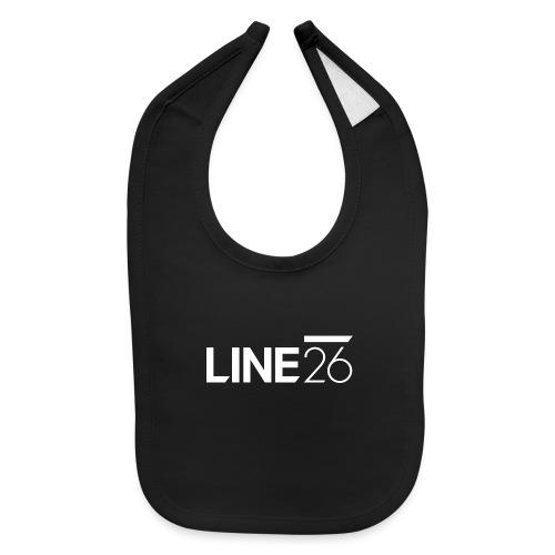 Line26 Logo (Light Version) - Baby Bib