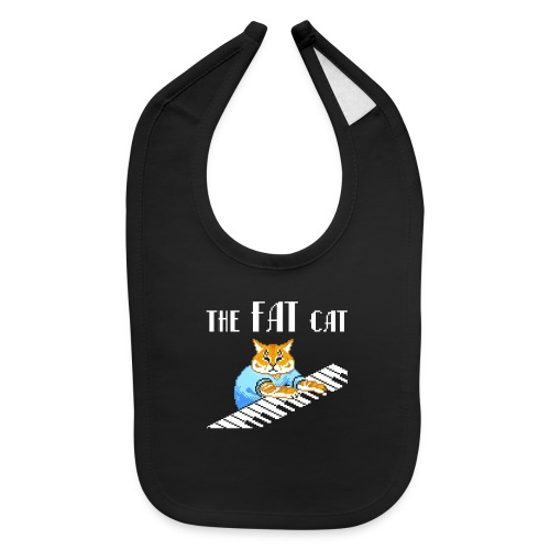 The Fat Cat - Baby Bib