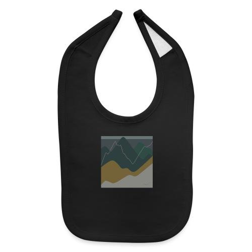 Mountains - Baby Bib