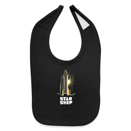 Star Ship Earth - Dark - Baby Bib