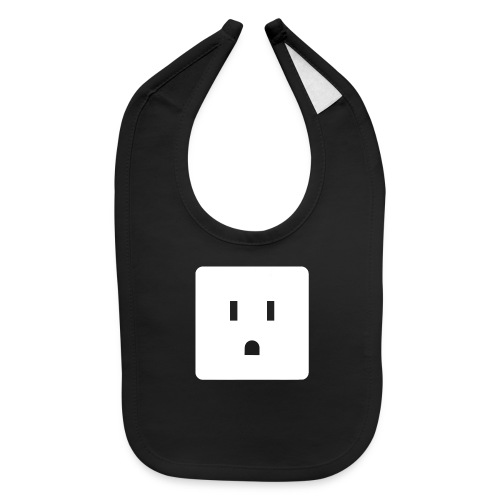 Funny Halloween Couples Costume Wall Outlet Female - Baby Bib